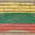 zászló · Litvánia · grunge · téglafal · festett · kréta - stock fotó © vepar5