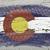 bandeira · Colorado · grunge · textura · preciso - foto stock © vepar5
