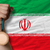 bronze medal for sport and national flag of iran stock photo © vepar5