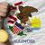 bronz · madalya · spor · bayrak · amerikan · Illinois - stok fotoğraf © vepar5