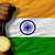 gold medal for sport and national flag of of india stock photo © vepar5