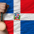 bronze medal for sport and national flag of dominican stock photo © vepar5