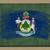 vlag · Maine · Blackboard · geschilderd · krijt · amerikaanse - stockfoto © vepar5