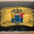 флаг · Нью-Джерси · доске · окрашенный · мелом · американский - Сток-фото © vepar5