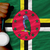 silver medal for sport and national flag of dominica stock photo © vepar5