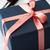 caja · de · regalo · decorativo · primer · plano · negro · arco - foto stock © veralub