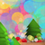 Festive Christmas tree design stock photo © veralub