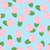colorful pattern of pink roses on turquoise stock photo © veralub