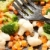 Serving of fresh chopped vegetables stock photo © veralub