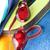 красный · водонепроницаемый · ткань · воды · бисер - Сток-фото © veralub