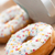 Golden freshly baked doughnut stock photo © veralub