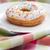 Doughnut on a plate stock photo © veralub