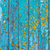 blue painted wood background texture stock photo © veralub
