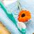 pasta · do · zębów · szczoteczka · pomarańczowy · zielone · muzyka · naciśnij - zdjęcia stock © veralub