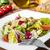 mixto · ensalada · pan · queso · comer · comedor - foto stock © vertmedia