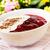 piros · gyümölcs · zselé · vanília · mártás · gyümölcsök - stock fotó © vertmedia