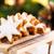mézeskalács · karácsony · süti · csillag · porcukor · lekvár - stock fotó © vertmedia
