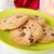 chocolate · chip · cookies · mármol · piedra - foto stock © vertmedia