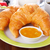 gezonde · ontbijt · koffie · croissants · vers · bessen - stockfoto © vertmedia