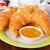 gezonde · ontbijt · koffie · croissants · sinaasappelsap · licht - stockfoto © vertmedia