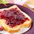 sándwich · manteca · de · cacahuete · atasco · frescos · tostado · pan - foto stock © vertmedia