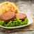 два · свежие · изолированный · белый · сыра · мяса - Сток-фото © vertmedia