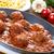 húsgombócok · paradicsomszósz · spagetti · tányér · étel · vacsora - stock fotó © vertmedia