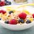 granola · iogurte · secas · framboesas · saudável · café · da · manhã - foto stock © vertmedia