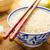 arroz · tazón · chino · bambú · blanco - foto stock © vertmedia