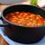 fehér · bab · paradicsomszósz · vacsora · piros · tányér - stock fotó © vertmedia
