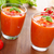dos · gafas · frío · frescos · italiano · sopa · de · tomate - foto stock © vertmedia