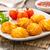 krumpli · ropogós · házi · készítésű · szerver · tányér · étel - stock fotó © vertmedia
