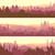 horizontal banners of big arab city at sunset stock photo © vertyr