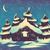 christmas · domu · odznaczony · drzewo · budynku · lasu - zdjęcia stock © vertyr