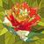 tulipán · virág · vektor · mozaik · nagy · piros · virág - stock fotó © Vertyr