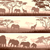 horizontal banners of wild animals in african savanna stock photo © vertyr