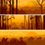 Horizontal banners of hills deciduous wood. stock photo © Vertyr