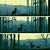 paysage · cerfs · horizon · vecteur · montagne · art - photo stock © vertyr