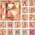 gebrandschilderd · glas · venster · ingesteld · deur · schilderij · vintage - stockfoto © vertyr