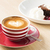 Cup of cappuccino with heart illustration stock photo © vetdoctor