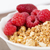 zoomed berries on golden cereals in bowl stock photo © vetdoctor