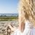 vrouw · witte · jurk · benen · lange · benen · partij · gelukkig - stockfoto © vetdoctor