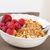 berries on golden cereals in bowl stock photo © vetdoctor