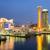 Osaka · crepúsculo · Japão · linha · do · horizonte · edifício · escritório - foto stock © vichie81