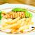 salmon steak with pesto sauce stock photo © vichie81
