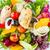 tintahal · feta · zöldségek · szelektív · fókusz · töltött · hal - stock fotó © vichie81