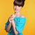 güzellik · moda · mutlu · gülen · genç · kız · komik - stok fotoğraf © victoria_andreas