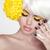 schoonheid · portret · vrouw · stijlvol · make · aanraken - stockfoto © victoria_andreas