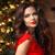 クリスマス · サンタクロース · 美しい · 笑顔の女性 · モデル · 化粧 - ストックフォト © Victoria_Andreas