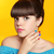 beautiful smiling teen girl with bow hairstyle makeup and colou stock photo © victoria_andreas